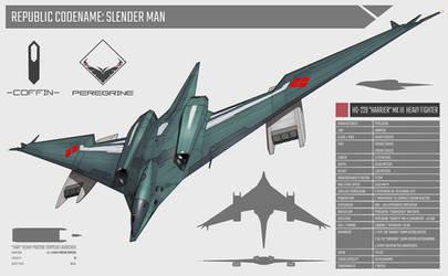 HO 229 Harrier mk III Heavy Fighter