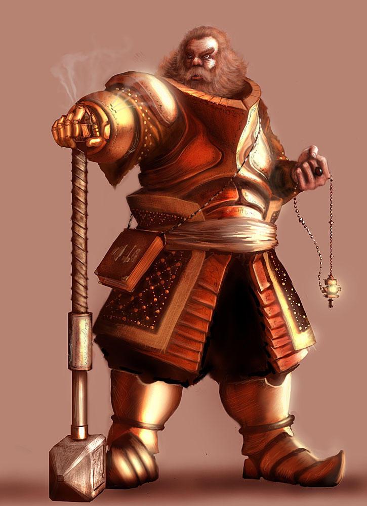 dwarven warrior priest by ignusdei on deviantart