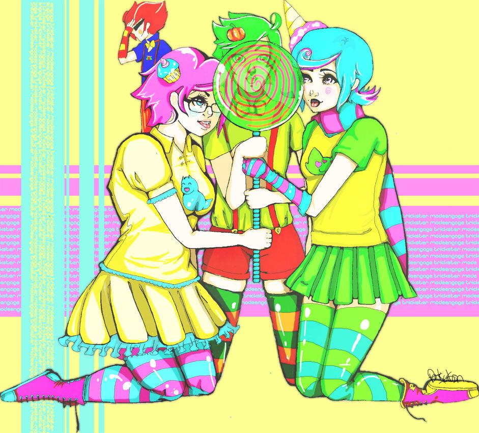 Homestuck - Trickster by katoryu-diethel