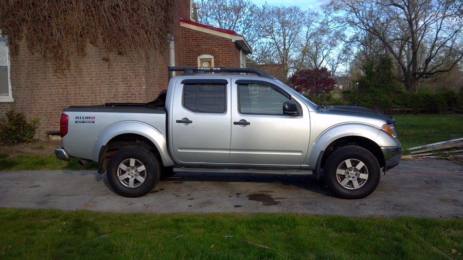 My First 2 Quot Lift Nissan Frontier Forum