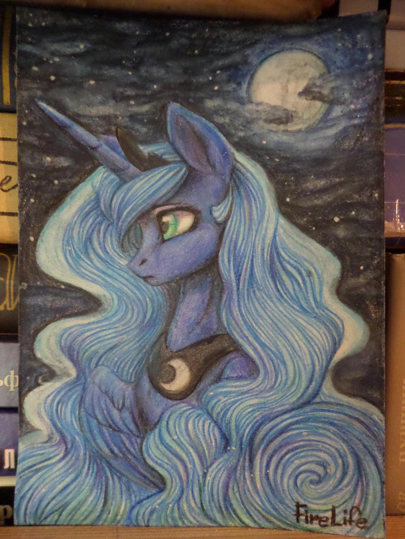 Princess Luna by AndyFireLife