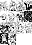 sketch cards 02 by LeighWalls-Artist