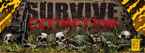 Survive Extintion Facebook cover image- IN COLOR