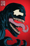 Venom-sketch by LeighWalls-Artist