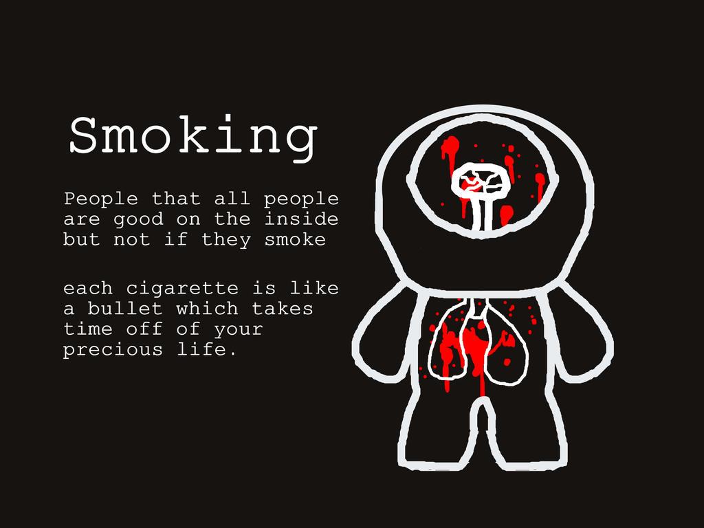 Smoking By Punpunk On Deviantart