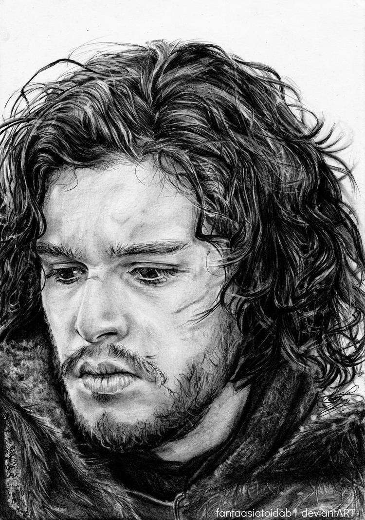 The Bastard of Winterfell by Fantaasiatoidab
