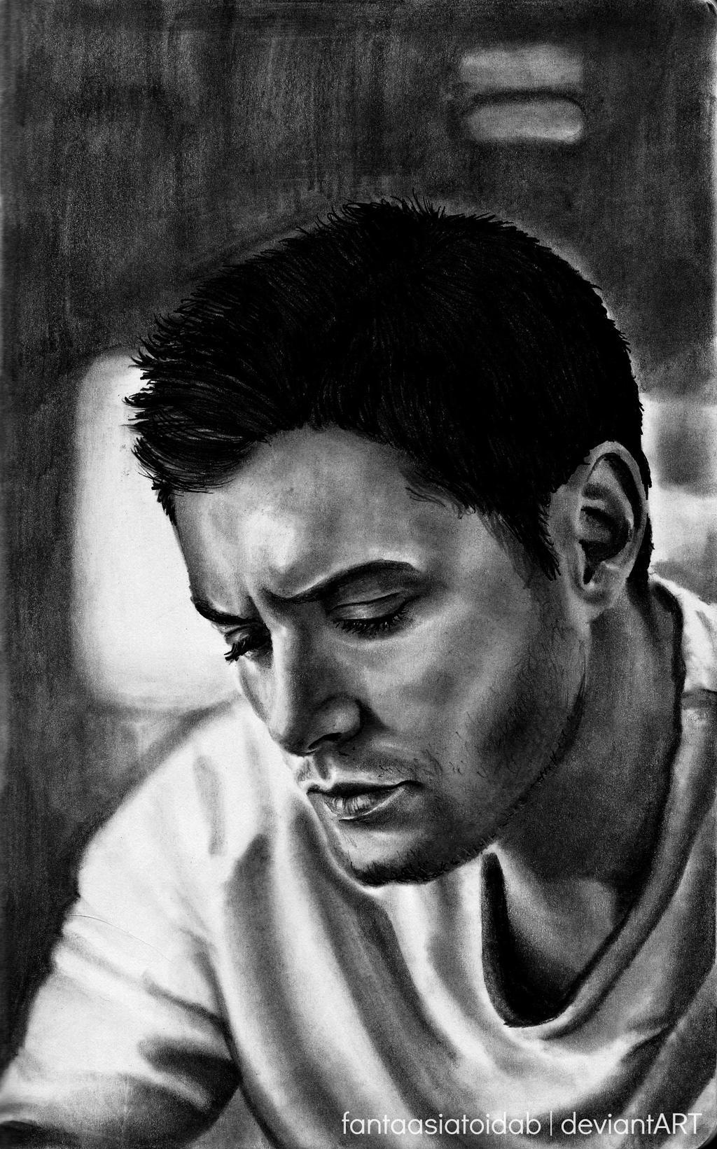 Sketch 2 Jensen Ackles by Fantaasiatoidab