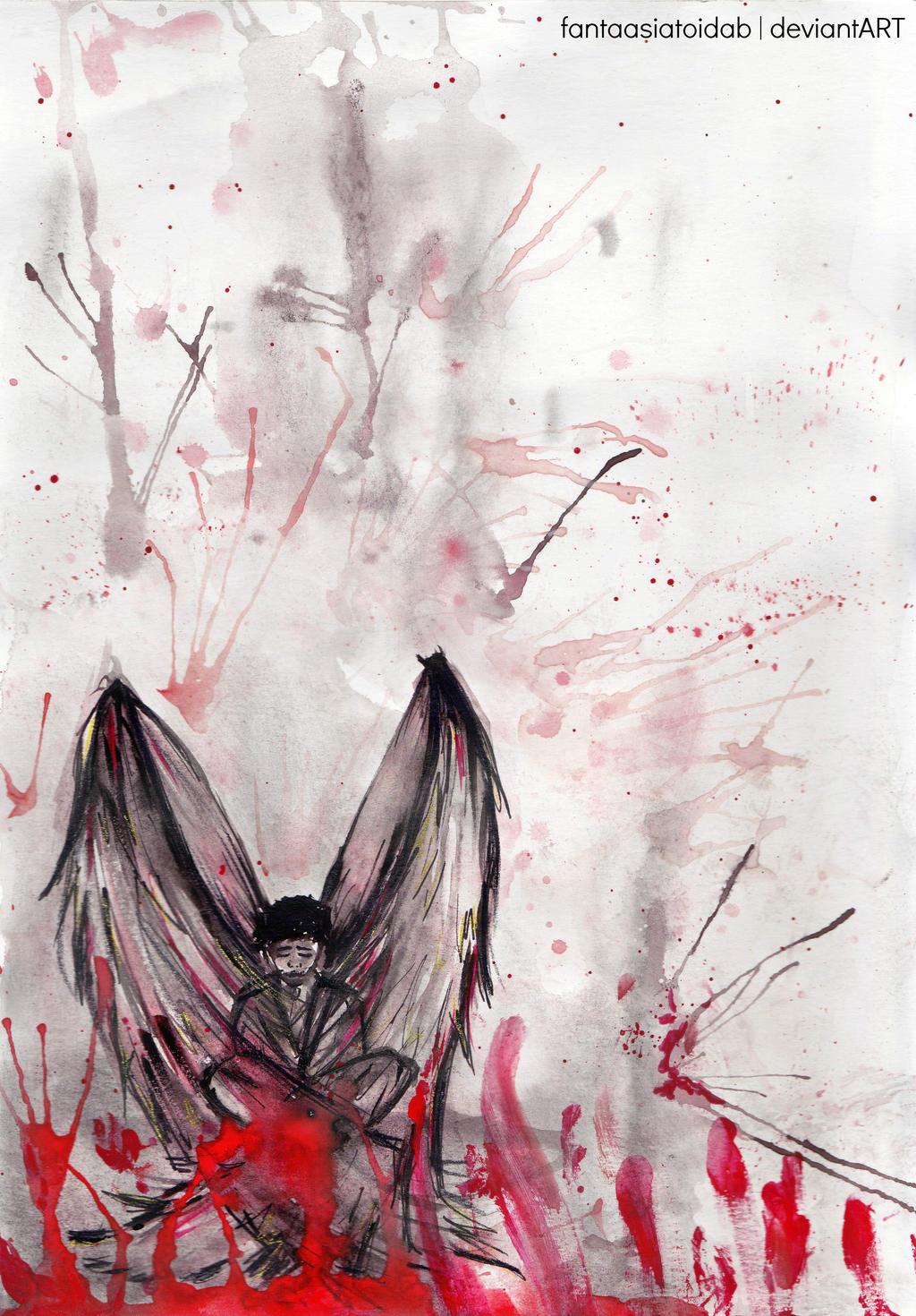 Fallen Angel by Fantaasiatoidab