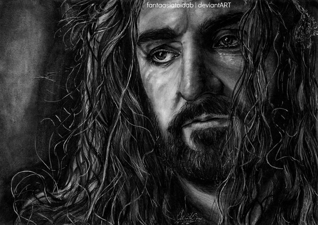 Thorin Oakenshield by Fantaasiatoidab