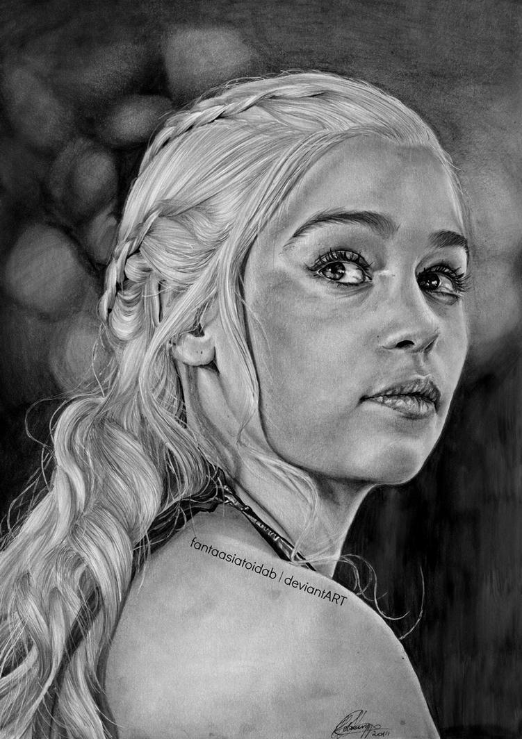 Daenerys Targaryen by Fantaasiatoidab