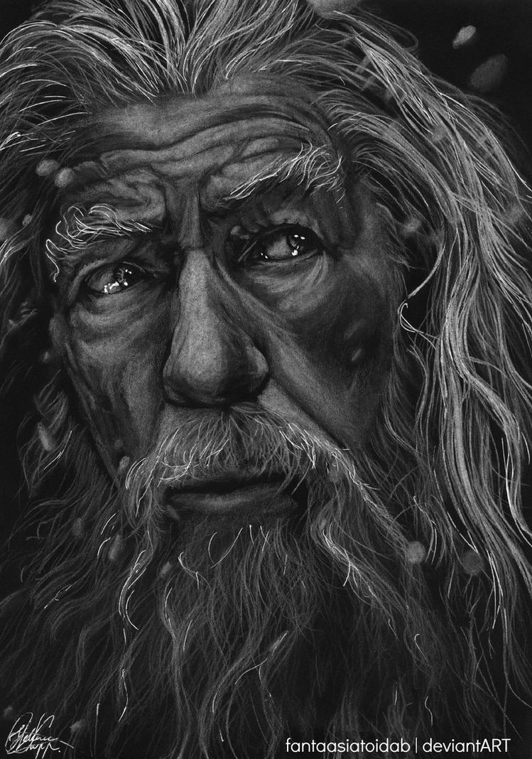 The Battle of Five Armies - Gandalf by Fantaasiatoidab