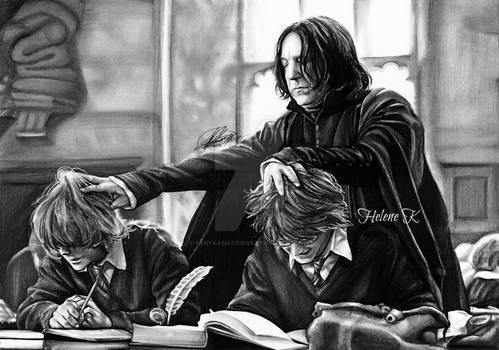 Severus Badass Snape