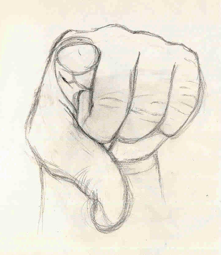 Foreshortening Hands 1 by ownje on DeviantArt