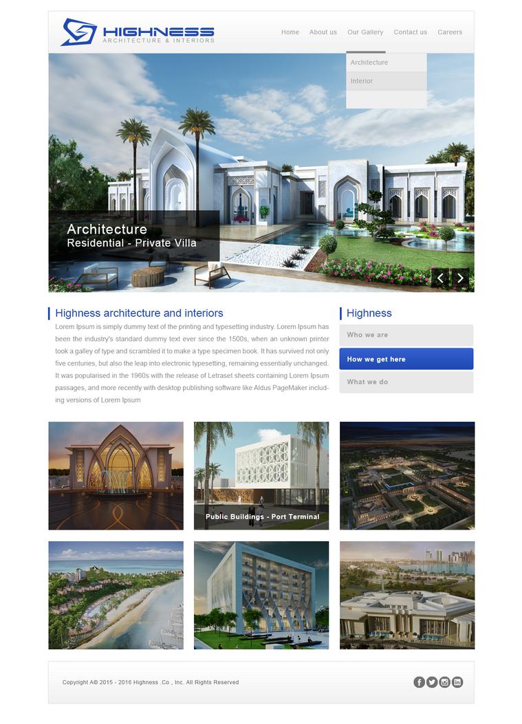 Highness Web Site by manshy