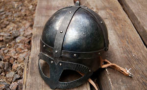 Gjermundbu style helmet by Tasselhoff88