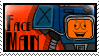 Face Man Stamp by Parchife