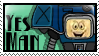 Yes Man Stamp by Parchife