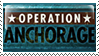 Operation Anchorage Stamp by Parchife