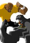 Luke Cage VS Venom