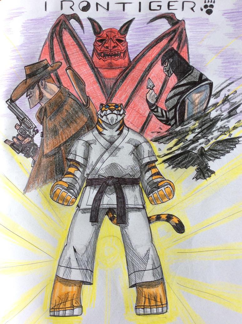 Iron Tiger by Apollorising