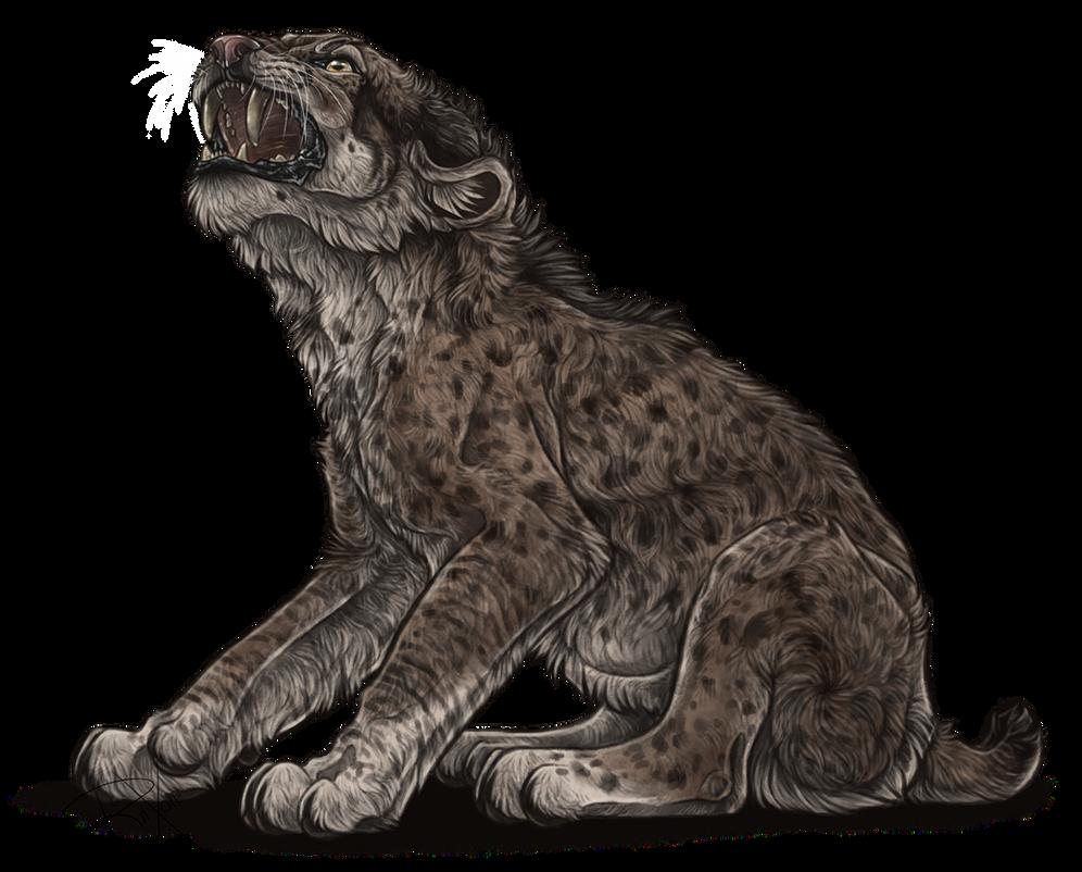 Fierce Smilodon Cub