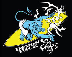 Surfer Demon by demonpack