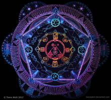 Mandala of Creation by TravisAitch