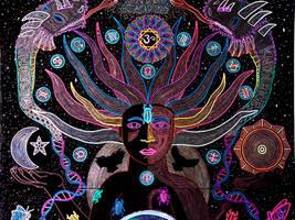 Alchemical Transmutation of the Cosmic Self (Top)