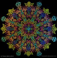 Mandala Sphurana by TravisAitch