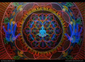 Mandala Abhasa (Holographic - Dim Lighting) by TravisAitch