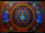 Mandala Abhasa (Holographic - Dim Lighting)