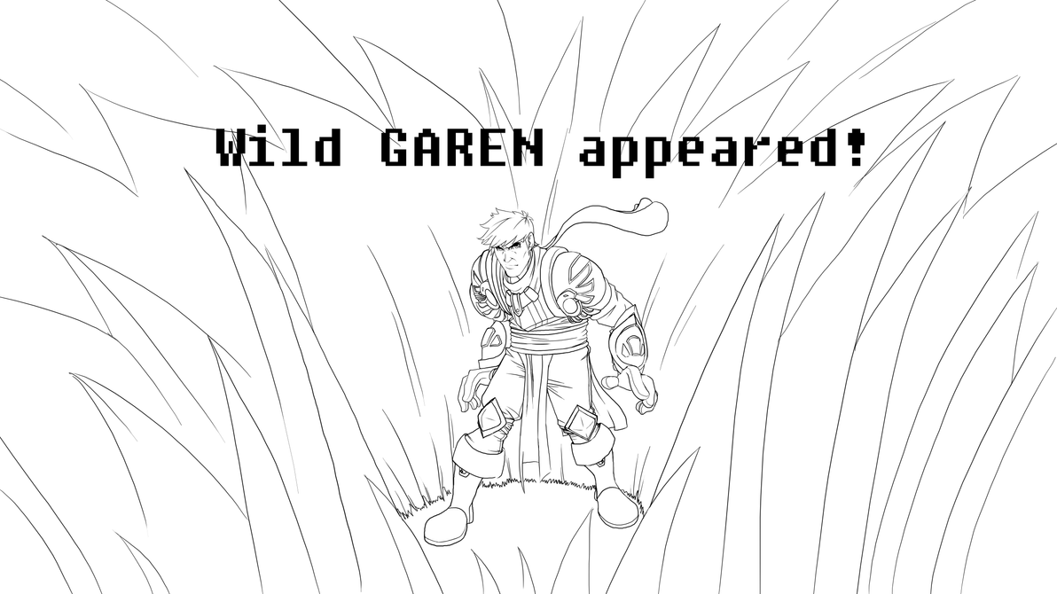 Garen In Brush by Refreshing-Rice