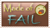Fail Stamp by fire-foxy