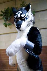 Wolf Link fursuit by Fatkraken