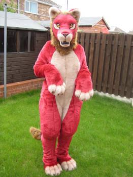 Red Lion full fursuit