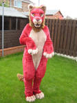 Red Lion full fursuit
