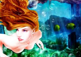 Sea Nymphs by MaeTan