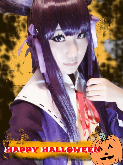 Ainn from Unlight-Happy Halloween by ShirasakiHikari