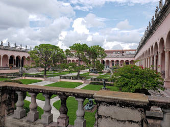 Courtyard at The Ringling Museum of Art by CooperationIsKey