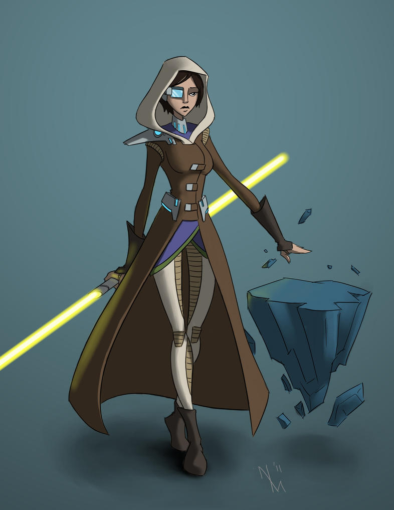 Jedi consular by cartoon itis on deviantart for Who is a consular