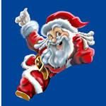 Santa's colour detail