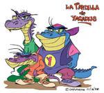 Gang of lizards