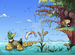 Ducks by CARUTOONS
