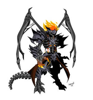 Inferno Dracolich with wings