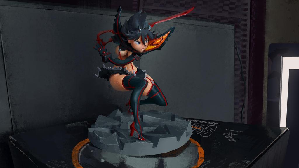 figurine qui dab