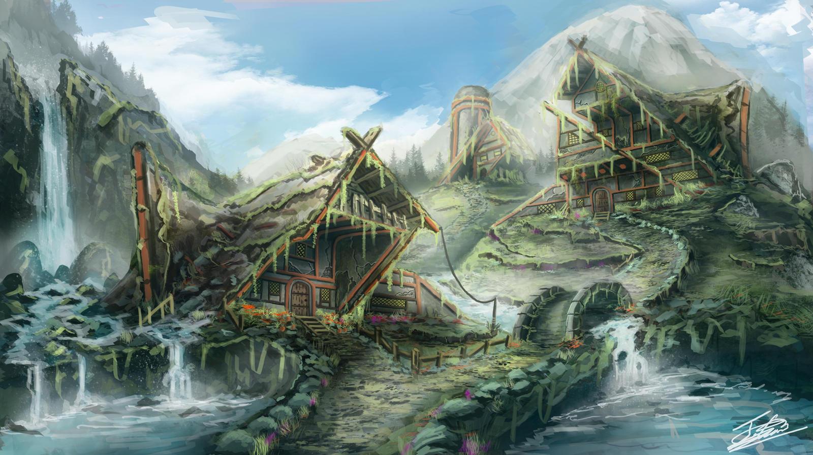 Fantasy Village Alexander Great Deviantart