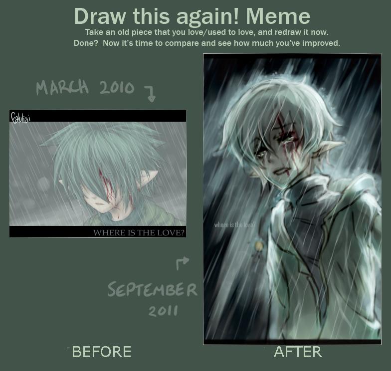 Draw again meme - WITL by faluu