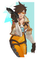 overwatch TRACER by ldn483