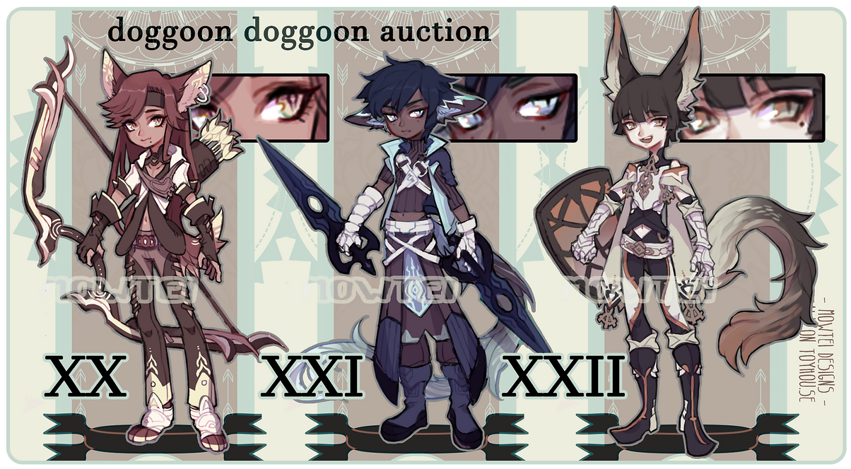 Auction: doggoon batch 202122 [closed] by mowtei