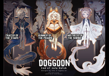 [Auction] Doggoon Batch [[CLOSED]]